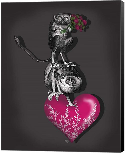Metaverse We Brought You Flowers By Fab Funky Canvas Art