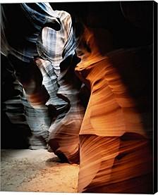 Upper Antelope Canyon Interior By Walter Bibikow, Danita Delimont Canvas Art