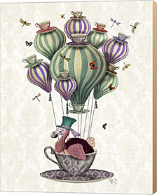 Dodo Balloon with Dragonflies by Fab Funky Canvas Art