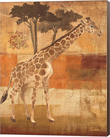 Animals On Safari I By Albena Hristova Canvas Art
