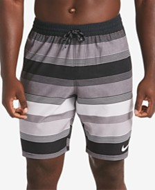 "Nike Men's 9"" Racer Volley Swim Trunks"
