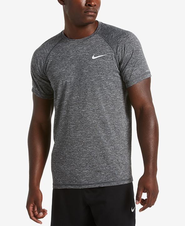 Nike Men's Hydroguard UPF 40 Sun Protection Swim Rash Guard