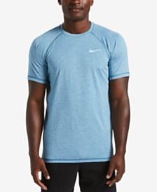 Nike Men's Big & Tall Hydroguard Moisture-Wicking Heather Rash Guard