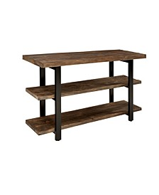 "Pomona 48"" Metal and Reclaimed Wood Media/Console Table"