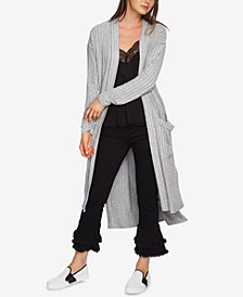 1.STATE Ribbed Duster Cardigan
