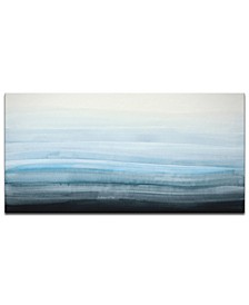 'Ocean Depths' Abstract Canvas Wall Art, 30x60""