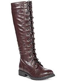 Dirty Laundry Roset Tall Combat Boots