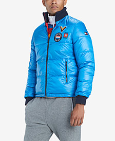 Tommy Hilfiger Men's Panorama Reversible Puffer Coat