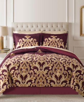 Amalanta Reversible 8-Pc. Comforter Sets