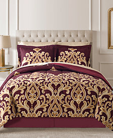Amalanta Reversible 8-Pc. Full Comforter Set