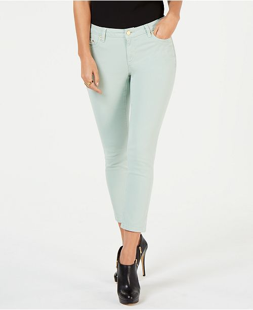 1aca1781168c Michael Kors Izzy Skinny Ankle Jeans, Created for Macy's & Reviews ...