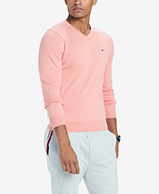 Tommy Hilfiger Men's Signature V-Neck Sweater, Created for Macy's
