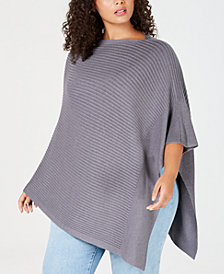 Eileen Fisher Plus Size Poncho
