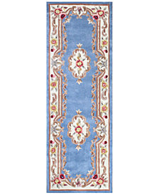 "KM Home Dynasty Aubusson 2'6"" x 8' Runner Rug, Created for Macy's"