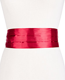 I.N.C. Satin Tuxedo Cummerbund Belt, Created for Macy's