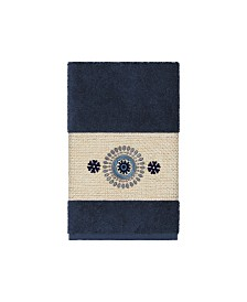 Linum Home Isabelle Embroidered Turkish Cotton Hand Towel