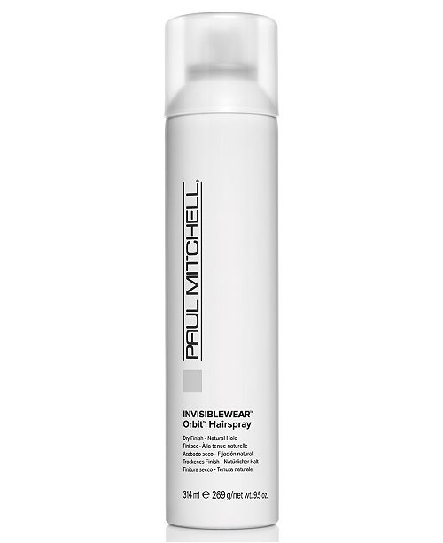 Paul Mitchell Invisiblewear Orbit Hairspray, 9.5-oz., from PUREBEAUTY Salon & Spa