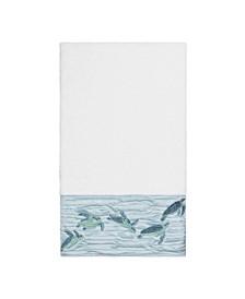 Mia Embroidered Turkish Cotton Bath Towel