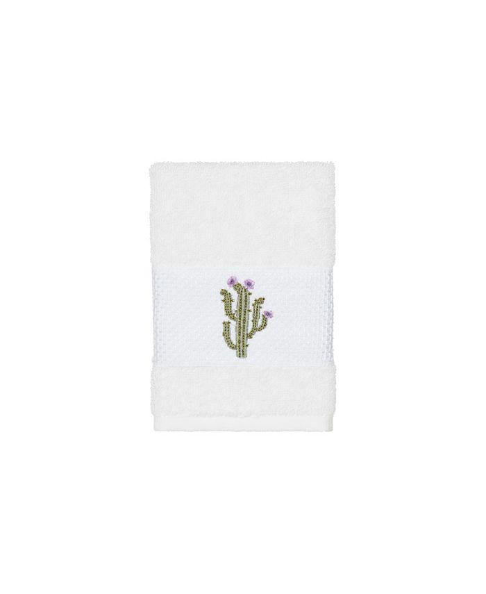 Linum Home - Mila Embroidered Turkish Cotton Washcloth