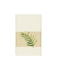 Zoe Embroidered Turkish Cotton Hand Towel