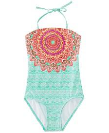 Summer Crush Big Girls 1-Pc. Printed Swimsuit