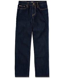 Polo Ralph Lauren Big Boys Hampton Straight Stretch Jeans