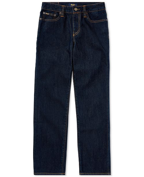 fb955892169 Polo Ralph Lauren Big Boys Hampton Straight Stretch Jeans & Reviews ...