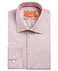 Tallia Men's Slim-Fit Non-Iron Performance Stretch Textured Solid Dress Shirt