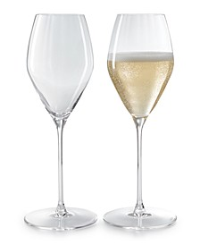Performance Champagne Glasses, Set of 2