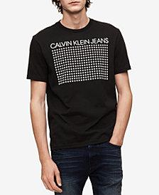 Calvin Klein Jeans Men's Reflective Stars T-Shirt