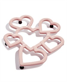 Martha Stewart Collection Hearts Trivet, Created for Macy's