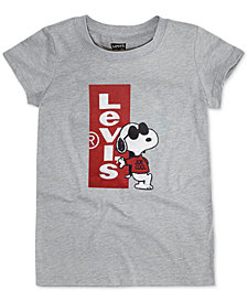 Levi's® Big Girls Joe Cool Snoopy T-Shirt