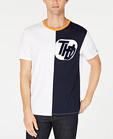 Tommy Hilfiger Men's Andes Split Graphic T-Shirt, Created for Macy's