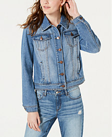 Dollhouse Juniors' Denim Jacket