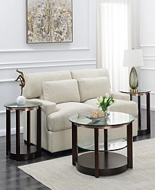 Benton 3 Piece Occasional Table Set-Coffee Table and Two End Tables