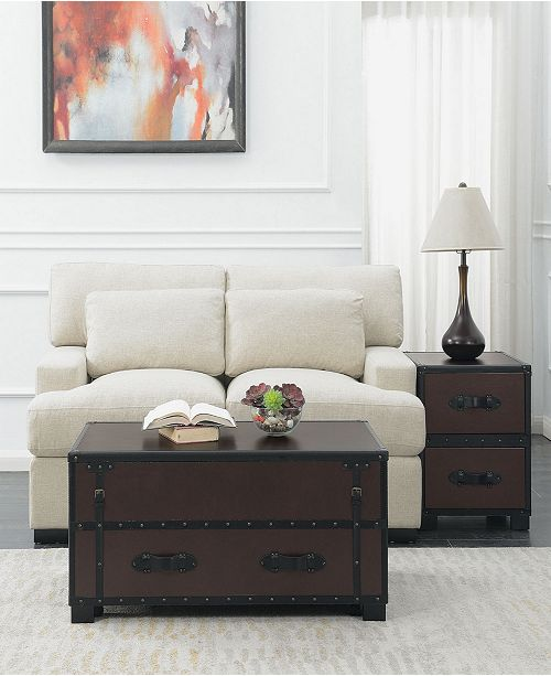 Picket House Furnishings Newport 2 Piece Occasional Table Set-Table and End Table