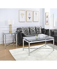 Monroe 2 Piece Occasional Table Set-Coffee Table and End Table