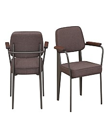 Ashtyn Fabric Chair Set