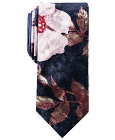 Tallia Men's Chapman Slim Floral Tie