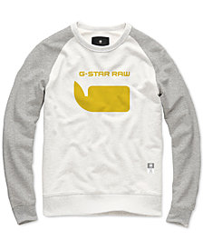 G-Star RAW Men's Colorblocked Logo Sweatshirt