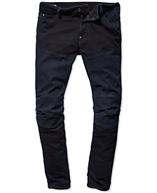 G-Star Raw Mens Two-Tone Moto Jeans