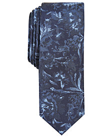 Penguin Men's Wadhams Skinny Floral Tie