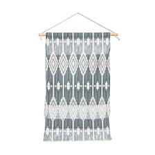 "Heather Dutton West End Midnight Linen Wall Hanging Portrait, 11""x16"""