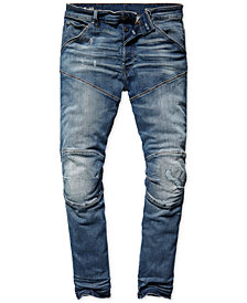 G-Star Raw Mens 3D Straight-Fit Tapered Jeans