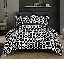 Chic Home Elizabeth 9 Pc King Duvet Set
