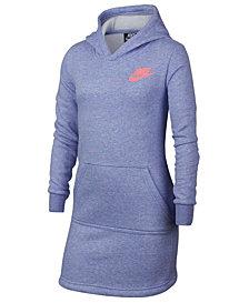 Nike Big Girls Hooded Sportswear Dress