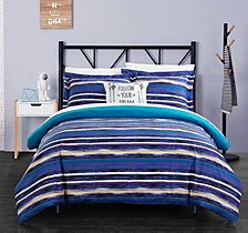 Chic Home Karan 6 Pc Twin X-Long  Duvet Set