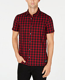 Calvin Klein Jeans Men's Plaid Shirt