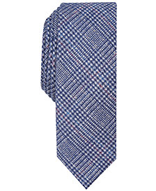 Penguin Men's Wendell Skinny Plaid Tie