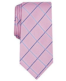 Nautica Men's Ballaine Slim Grid Silk Tie